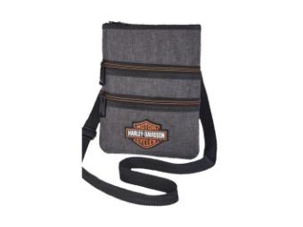 Cross Body Sling Heather Gray Shoulder Bag A99616-HE-GR
