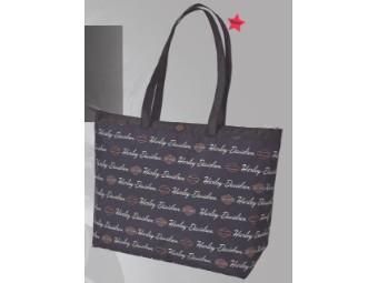 "Shopper ""Signature"" A99914-SI Black Shopping Bag"
