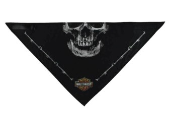 "Bandana 3 in 1 ""Deadly Jaw"" Schwarz BAC91080 Skull"