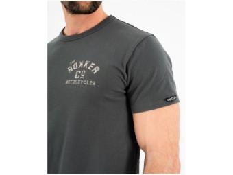 "Herren T-Shirt "" Motorcycles & CO."" C30104 Grau"