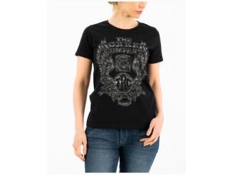 Lady Wings Classic T-Shirt Schwarz C40051