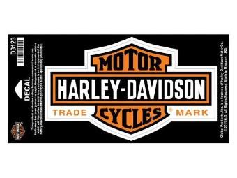 Harley-Davidson Sticker/Decal -BAR + SHIELD LONG - medium D3123