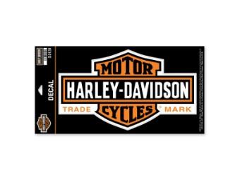 """Sticker / Decal """"Long Bar & Shield"""" D3125"""