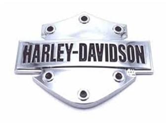 Harley-Davidson 3D-Sticker, B & S, Hard Plastic, Chrome Finished DC200061