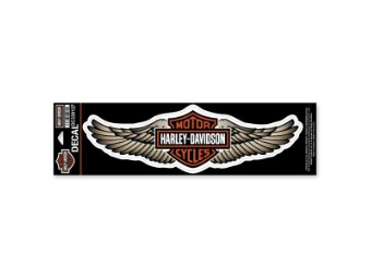 "Sticker / Decal ""Straight Wing"" Beige DC339127"