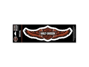 "Sticker / Decal ""Straight Wings"" Orange DC339384"