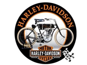 """Vintage-Motorrad-Puzzle"" DW6044 Erste Harley 1000 Teile"