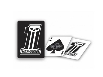 "Spielkarten ""#1 Dark Custom"" DW611 Pokerqualität Playing Cards"