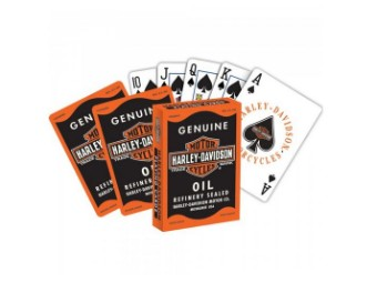 "Spielkarten ""H-D Oil Can"" DW639 Pokerqualität Playing Cards"