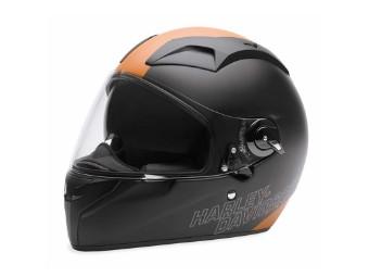 """Herren """"HELM """"FXRG FULL FACE"""" EC-98305-15E Schwarz Orange"""