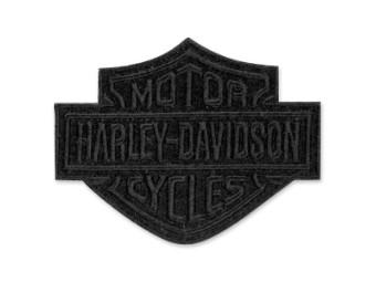 """Emblem """"Bar & Shield"""" Black SM EM302302"""