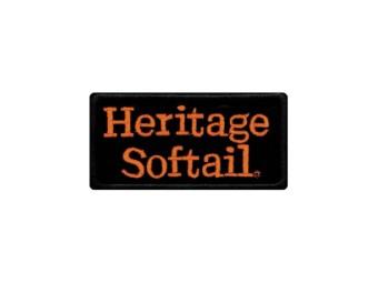 "Emblem Aufnäher ""Heritage Softail"" EMB048643"