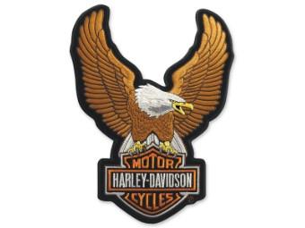 """Emblem """"Upwing Eagle"""" Brown EMB328394"""
