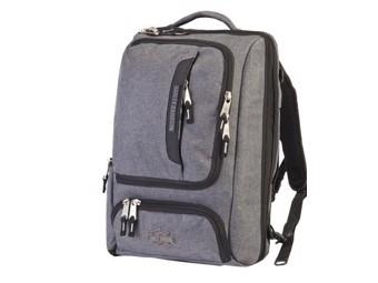 Harley-Davidson Athalon Mobile Backpack Laptop pocket Grey 10Litres A99221