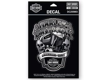Sticker/Decal -#1 MILWAUKEE EIGHT- DC255903 Black