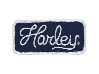 Harley-Davidson Patch, Emblem -Harley Script- EM286852 medium script lettering