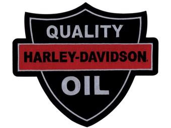 """Aufnäher / Emblem """"QUALITY OIL"""" Patch EM1160306 groß"""