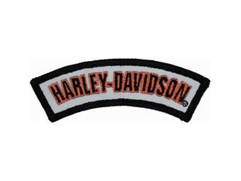 "Harley-Davidson Emblem ""ROCKER REFLECTIVE"" Logo Patch small EM307642"