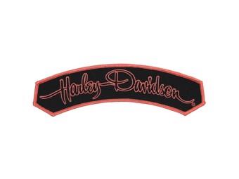 """Harley-Davidson Aufnäher, Emblem """"SIGNATUR"""" EM215804 mittel"""