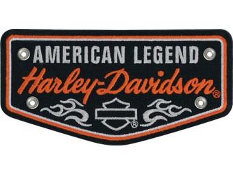 "Harley-Davidson Aufnäher Emblem ""NAMESNAKE"" EM057662 Nieten Patch"