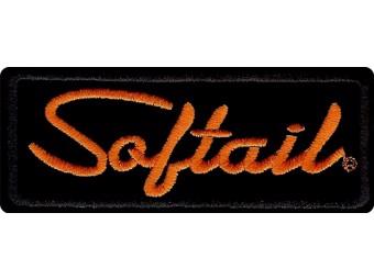 Patch Emblem -SOFTAIL- EM055642 Black Orange