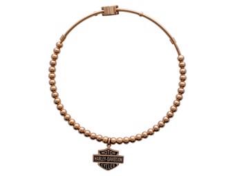 "BANGLE Armband ""GOLD B+S"" Edelstahl Armreif *HSB0087-BANG*"