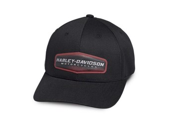 """Harley-Davidson Baseball Cap """"High Density"""" 97775-19VM schwarz Einheitsgröße"""