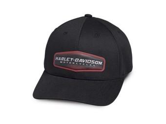 "Harley-Davidson Baseball Cap ""High Density"" 97775-19VM black One Size fits all"