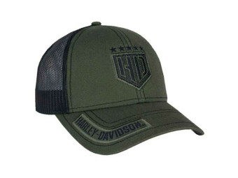Harley-Davidson Baseball Cap -Resolute- *BCC34394* Olive Snapback onesize Dealer
