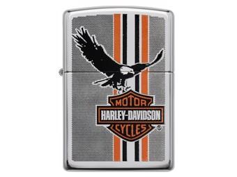 Harley-Davidson by Zippo Feuerzeug Edition B&S Eagle Stripe ZIPPO 60003983
