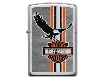 Harley-Davidson by Zippo Lighter Edition B&S Eagle Stripe ZIPPO 60003983