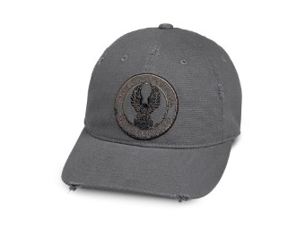 "Cap ""DISTRESSED"" Eagle 97769-19VM Grau Adler"
