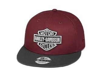 "Cap ""EMBROIDERED LOGO"" Trucker 97608-20VM Rot 9FIFTY"
