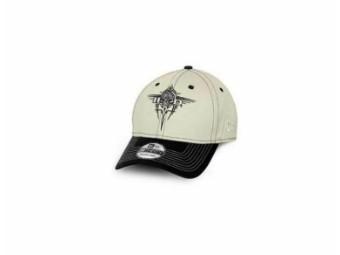 "Harley-Davidson Cap ""Tribal Skull"" 39THIRTY NewEra 97691-15VM Beige Stretch"