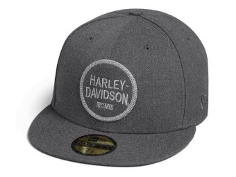 "Harley-Davidson CAP ""Woven"" 99401-20VM Grey Cap"