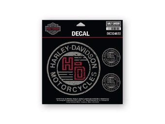 "Decal Sticker ""FORGED CIRCLE"" Sticker DC324822"