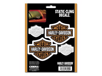 "Decal ""STATIC"" Sticker CG-3500 adhesive for car windows"