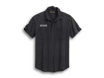 Leisure Shirt -WOVEN- short sleeve 99009-20VM