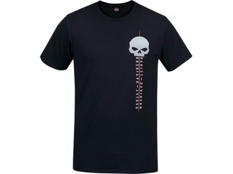 Harley-Davidson -G LINE- Men's Dealer T-Shirt R003531 black Cotton Tee
