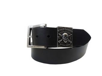 Harley-Davidson Belt -NO FREE RIDE SKULL- by Lodis HDMBT10839-34 Size 34