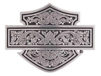 "Harley-Davidson Belt Buckle ""FILAGREE B&S"" Buckle, Tribal, Roses HDWBU11374"