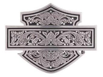 Harley-Davidson Belt Buckle -FILAGREE B&S- Buckle, Tribal, Roses HDWBU11374