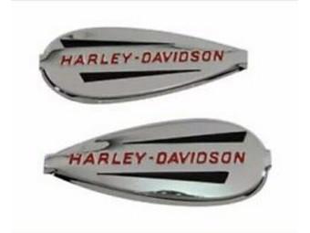"""Harley-Davidson H-D TANK EMBLEM """"HARLEY-DAVIDSON"""" 61769-40T SET 2er-Set"""