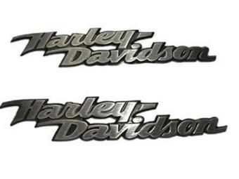 """H-D TANK EMBLEM """"HARLEY-DAVIDSON"""" 62309-06 SET 2er-Set"""