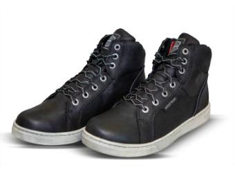 """Men's Shoes Boots """"Midland Black Waterproof CE"""" D97062"""