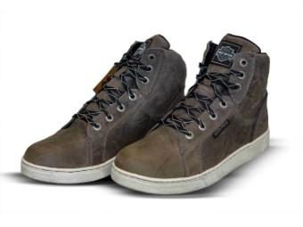 "Men's Shoes Boots ""Midland Grey Waterproof CE"" D97063"