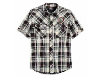 "Men's Shirt 96548-19VM ""Performance Vented Plaid Woven"" Chequere"