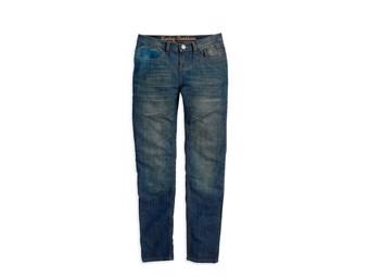 Jeans Motorradhose Bikerhose Lady EC-99185-14VW/0600 Gr. 36