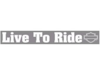Live to Ride 90 x 10 cm Sticker CG-59007