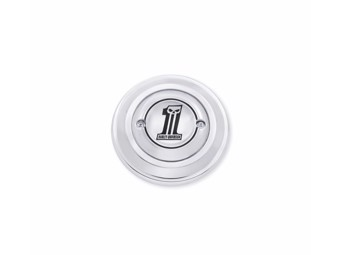 """Air Filter Cover """"NUMBER 1"""" Dyna 2008 up chrome 27958-10"""